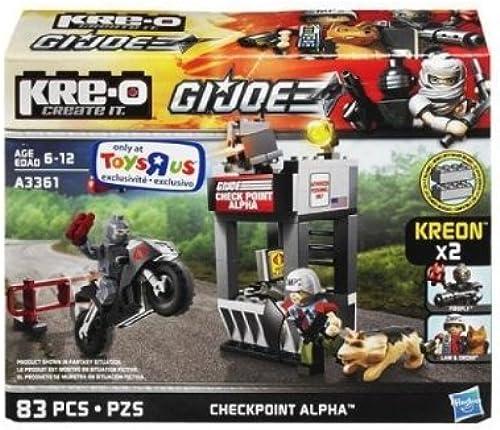 100% garantía genuina de contador KRE-O KRE-O KRE-O G.I.Joe Checkpoint Alpha Law & Order Firefly by hasbro (English Manual)  tienda en linea
