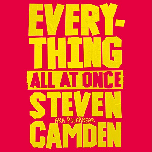 Everything All at Once audiobook cover art