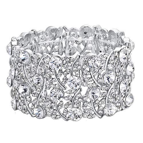 Clearine Bracelet Élastique Femme Style Magnifique Bijou...
