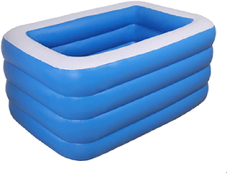 Neugeborenes Baby-Baby-Kind-aufblasbares Pool-übergroes verdicken Familienhaus zu Hause erwachsenes Ozean-Ball-Pool (gre   1.5m4layer)
