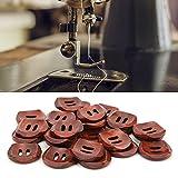 OKAT Botón, Botones de Ropa Botones de Abrigo con Hebilla de Costura de Madera para proyectos de Bricolaje para el hogar para Manualidades Fabricación de Ropa