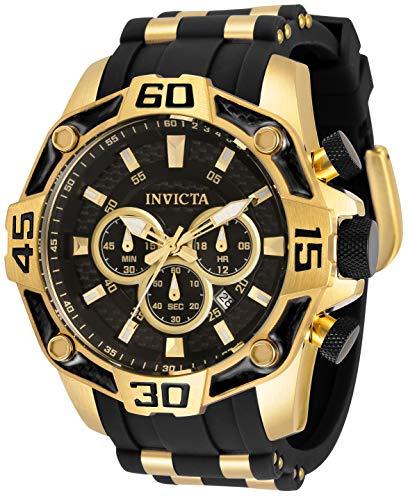 Invicta Men's Pro Diver 33837 Black Stainless-Steel Quartz Diving Watch