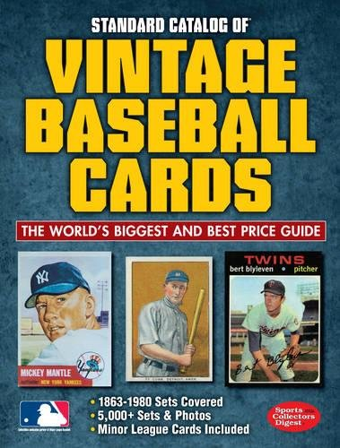 Compare Textbook Prices for Standard Catalog of Vintage Baseball Cards 2 Edition ISBN 0074962015310 by Staff of Sports Collectors Digest