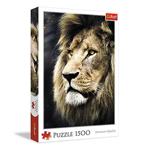 Trefl- Puzzle Leone Ritratto, TRF26139