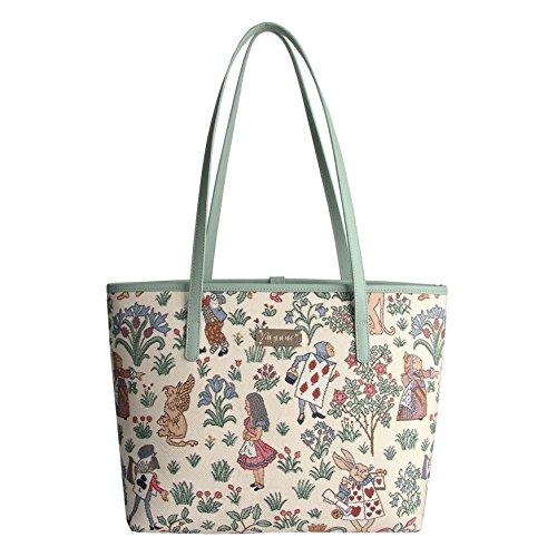 Signare fourre-tout sac de collège tapisserie mode femme Chat-attitude