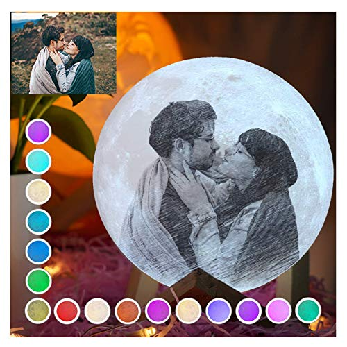 Customed Moon Lamp, Pubsooup Personalized Moon Night Light with Photo...