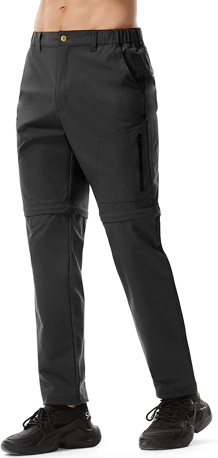 Freetrack Men's Challenge the lowest price of Japan ☆ Hiking Climbing Pants Convertible Outd Dry Quick Oklahoma City Mall