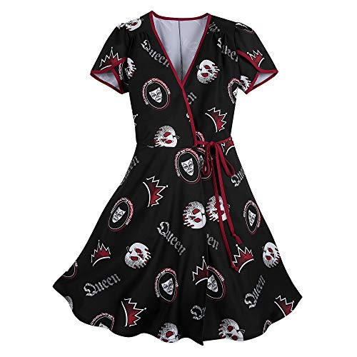 Disney Evil Queen Wrap Dress for Wo…