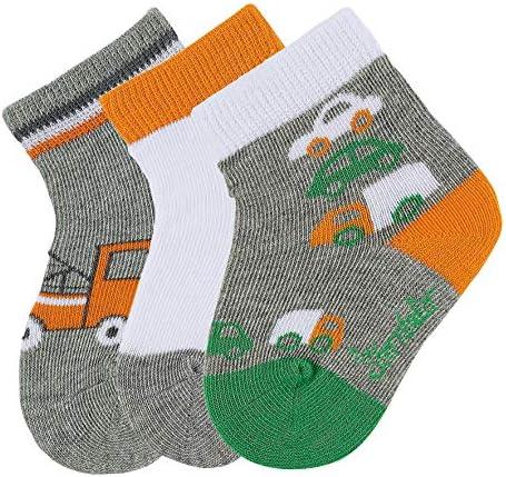 Herstellergr/ö/ße Himmel 325 per pack Blau Jungen Baby-S/öckchen 3er-Pack Traktor Socken Sterntaler Baby ,