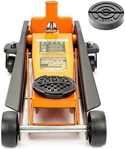 Wagenheber 3T + 2xGummi, Rangierwagenheber, Heber, Ständer, Unterstellbock, Modellwahl (Wagenheber 3T)