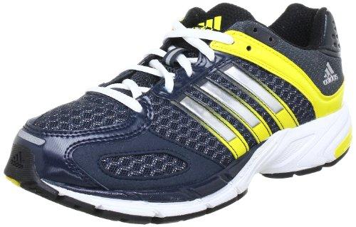 adidas Supernova Sequence 5 xJ Q23798, Unisex-Kinder Sneaker, Mehrfarbig (Tech Onix F12 / Metallic Silver / Vivid Yellow S13), EU 35