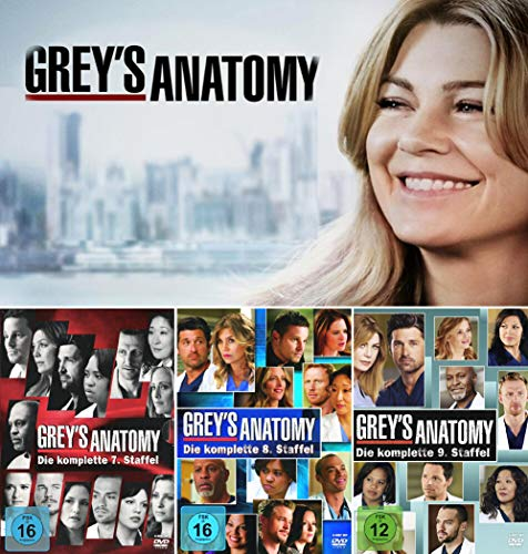 Grey's Anatomy: Die jungen Ärzte - Die komplette 7. + 8. + 9. Staffel