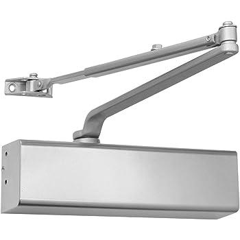 Global Door Controls Heavy Duty Commercial Door Closer In Aluminum Sizes 1 6 Amazon Com