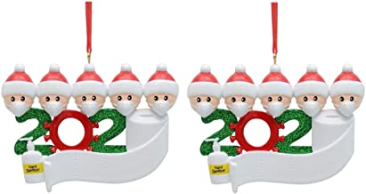Survived Family Ornament Xmas Tree Ornaments 2020 Christmas Ornament Holiday Decorations Survived Family Christmas Hanging...
