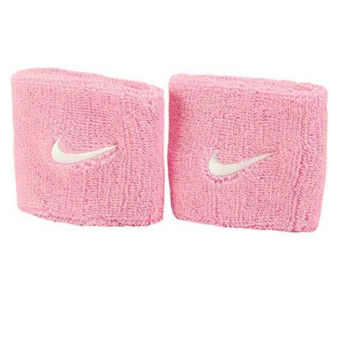 Nike Swoosh Schweißbänder, Perfect pink/White, OSFM