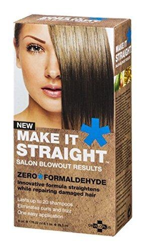 Developlus Make It Straight Salon Blowout Results by Developlus