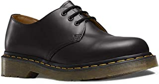 1461z Smooth Black, Zapatos de Cordones Unisex Adulto