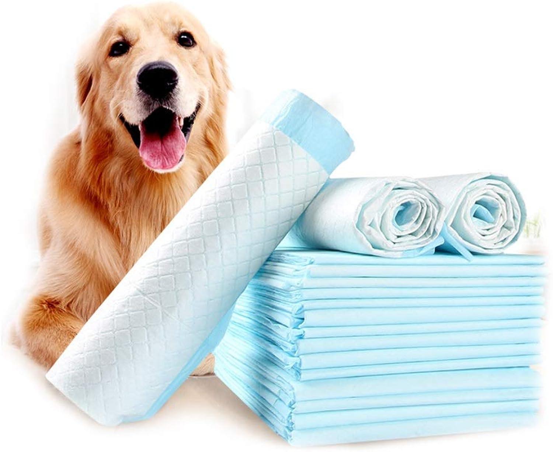 Padri di formazione Pet Training Pads Toilet Trainer Potty Products Puppy Dog Pee Anti Slip Leakprova (60 * 90cm) (Dimensioni:60 Pack)