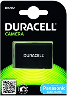 Duracell DR9952 - Batería para cámara digital 7.4 V 850 mAh (reemplaza batería original de Panasonic DMW-BMB9E)