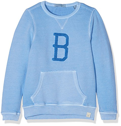 Scotch & Soda Shrunk Garment Dye Crewneck Sweat, Felpa Bambino