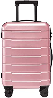 TYUIO Luggage Set Trolley Spinner Lightweight Durable Suitcase Hardshell (Color : Pink, Size : 24 Inches)