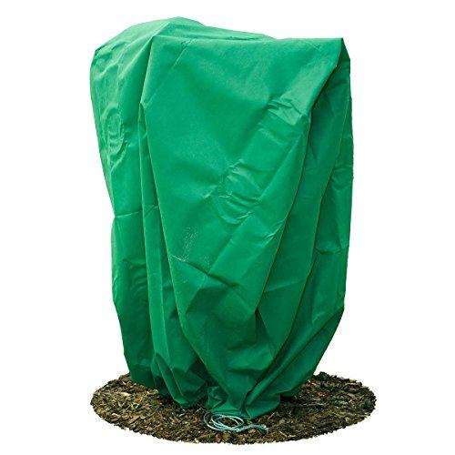 HaGa® Frostschutzhaube Winterschutz Frostschutzvlies 80g/m² 155cmx150cm grün