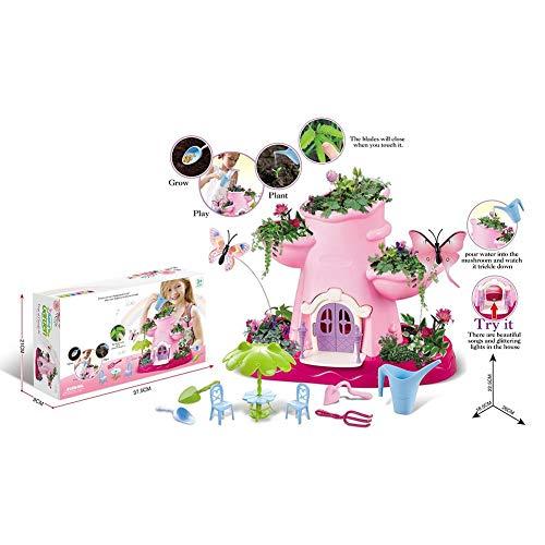 DIY Märchengarten Magic Cottage Spielhaus Pflanze Topf Jungen und Mädchen Spielhaus Spielzeug Kindergarten Spielzeug Kit