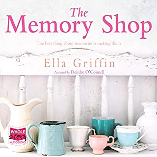 The Memory Shop                   By:                                                                                                                                 Ella Griffin                               Narrated by:                                                                                                                                 Deirdre O'Connell                      Length: 13 hrs and 30 mins     100 ratings     Overall 4.4
