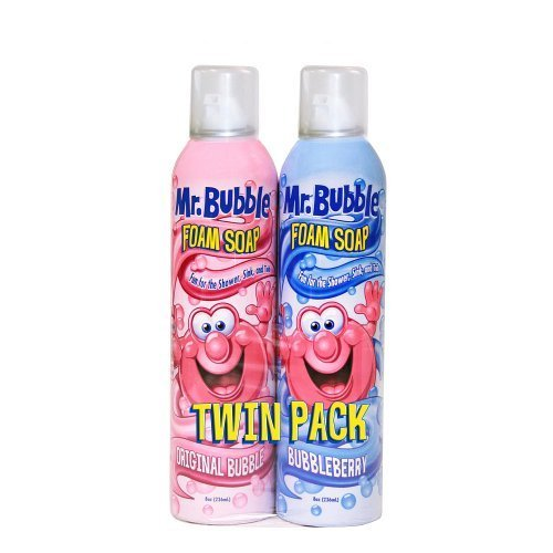 Mr. Bubble Foam Soap 2-Pack by The Village Company