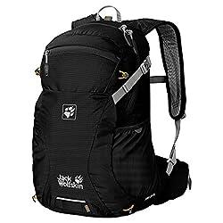 Jack Wolfskin Unisex Ride Backpack Moab Jam 24, Black, 48 x 30 x 24 cm, 24 liters, 2002302-6000