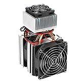 DIY módulo enfriador de semiconductores eléctricos termoeléctrico Peltier refrigerador radiador ventilador sistema de refrigeración 12V