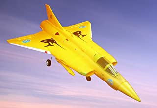 2.4G brushless Motor rc Planes fix Wing Remote Control Airplanes Saab J35 Draken Fighter Foam 64