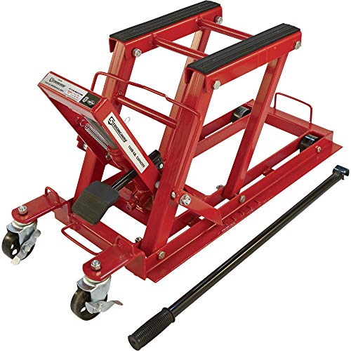 Strongway 1500-Lb. Hydraulic Motorcycle Lift/Utility Vehicle Lift