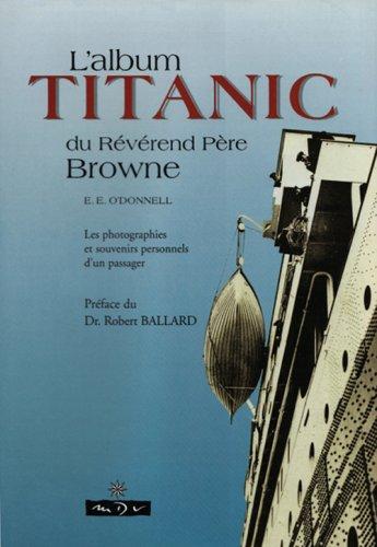 Lalbum Titanic Du Rvrend Pre Browne