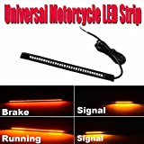 32 SMD Universal LED Brake Tail Light Stop Turn Signal Lamp For Harley Motorcycle