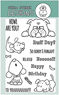Howl are you? Puppy Clear Stamp Set 4x6 Inches