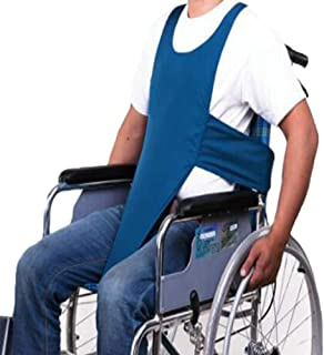 YAOBAO Arnés de Seguridad para sillas de Ruedas, Chaleco de protección Fijo con Banda de