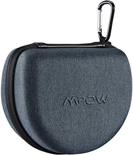 Mpow Headphone Carrying Case for Mpow 059, H17, H19 IPO, H21, Foldable, Over Ear, On Ear Headphones of Other Brands, Storage Bag Carrying Case for Travel Convenience, Full Protection
