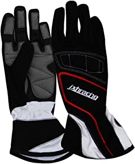 jxhracing G001HA Racing gloves-Black-X Large