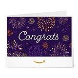 Amazon.ca Gift Card - Print - Congrats Fireworks