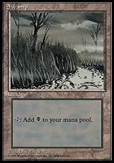 Magic: the Gathering - Swamp (354) - Ice Age