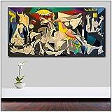 JYWJ Mscomft Pablo-Picasso-Guernica Pop Art Leinwand