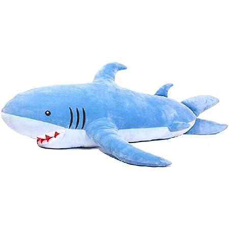 サメ ぬいぐるみ 特大 180cm サメ抱き枕/鮫ぬいぐるみ/子供プレゼント/お祝い/ふわふわぬいぐるみサメ
