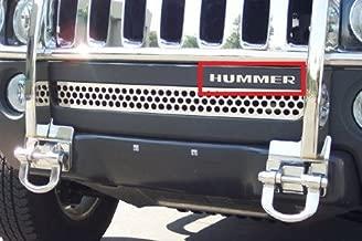 BDTrims Bumper Plastic Letters Inserts fits HMR H3 Models (Chrome)