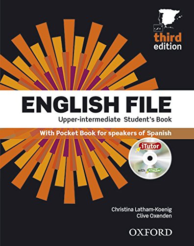 English File 3rd Edition Upper-Intermediate. Student's Book Workbook without Key Pack (English File Third Edition)