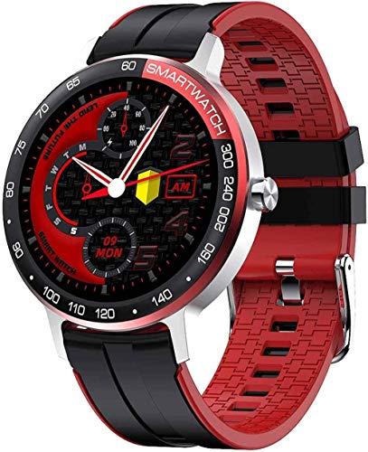 CBCJU Alta gama deportes fitness reloj 1.3 pulgadas pantalla de color de alta definición reloj inteligente esfera personalizada IP68 impermeable-plateado