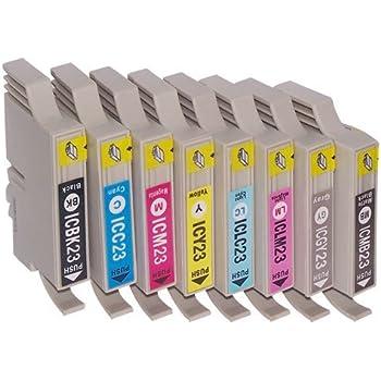 エプソン IC8CL23 8色セット 【互換インクカートリッジ】【ICチップ有】EPSON IC23-8CL-SET【インク】