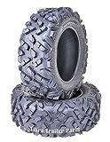 Set of 2 ATV UTV Tires 27x11-14 27x11x14 6PR Mud