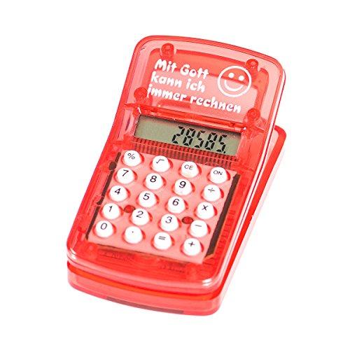 °* Taschenrechner mit Magnetklammer