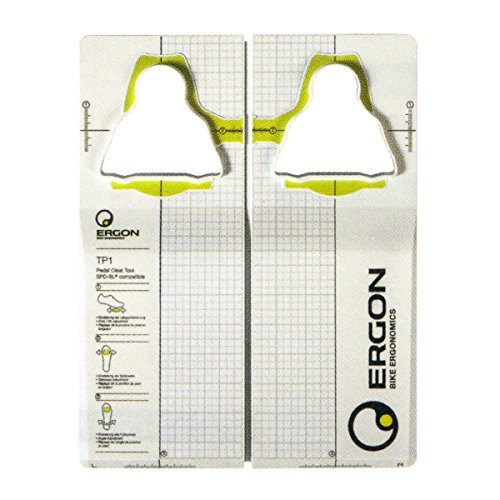Ergon TP1 Pedal Cleat Tool for Shimano SPD SL Fahrradschuheinsteller, White , One Size